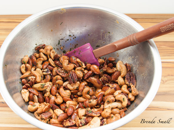 If you like rosemary, you will love these nuts!
