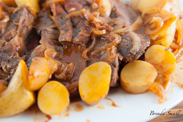This is one of my favorite pot roast recipes.