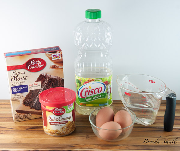 These are the basic ingredients you will need for this masterpiece.