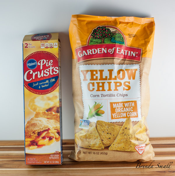 The pie crust and the tortilla chips I use for the Texas Style Quiche.
