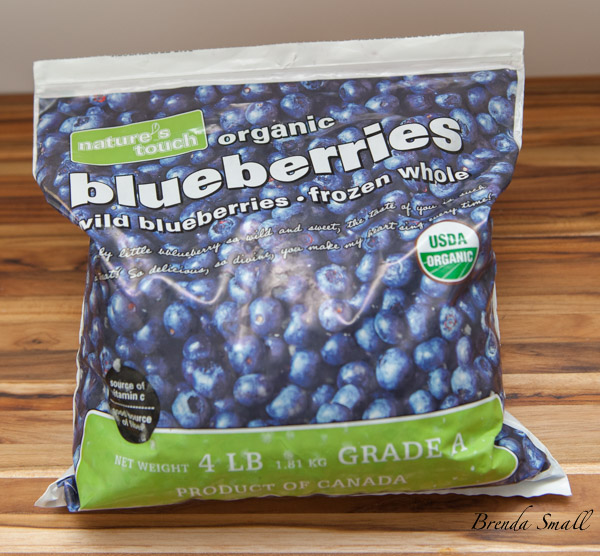 These are the organic Wild Blueberries that I use when I can not get fresh ones.  Be sure to leave them frozen.